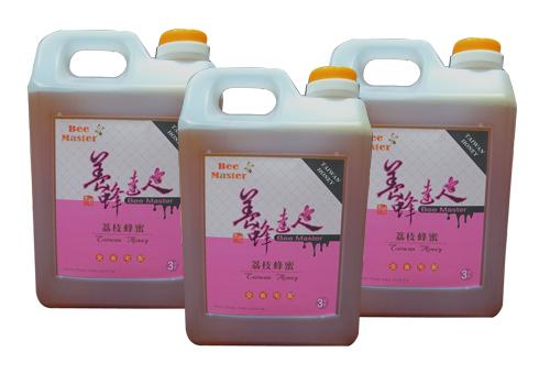 蜂蜜-國產精選荔枝蜂蜜3公斤-3桶-養蜂達人,志城養蜂場