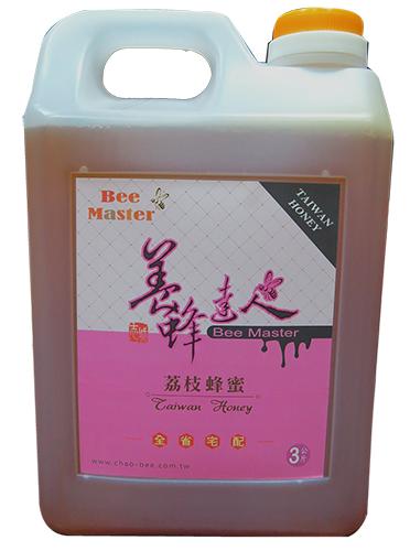 蜂蜜-國產精選荔枝蜂蜜3000g-養蜂達人,志城養蜂場自產自銷品質保證